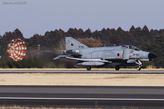 Japan Air Self Defence Force, McDonnell Douglas F-4EJ Kai Phantom II, 97-8427. (M. Leith Photography) Tags: mark leith photography japan japanese self air defence force jasdf mcdonnell douglas phantom f4 ibaraki hyakuri sunshine base fighter nikon d7000 d7200 70200vrii 300mmf4 nikkor asia flying military sky building airplane aircraft cockpit