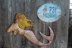 IMG_7586 (mudsharkalex) Tags: california pacificgrove pacificgroveca mermaidavenue mermaid sirena