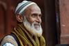 Commerçant à Fathepur Sikri. (Gilles Daligand) Tags: akbar capitale empiremoghol fatehpursikri inde jamamasjid mosquée portrait commerçant