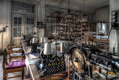 Machines and Yarn (Fine Art Foto) Tags: urbex artfoto gestern dream wwwfineartfotocom urban exploration urbexart urbandecay lost place lostplaces lostplace decay decaying discard discarded old oblivion alt abandoned forgotten vergessen verlassen derelict aufgegeben rotten verottet näherei sewing factory fabrik wäschefabrik wäsche sonya7riii