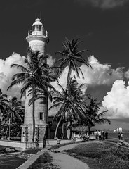 Galle lighthouse, Galle, Sri Lanka (Flytipper) Tags: srilanka lighthouse galle blackandwhite