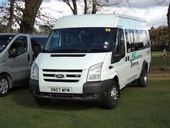 Swinton Travel of Manchester DN57WFM (yorkcoach2) Tags: york manchester swintontravel ford fordtransit dn57wfm races racecourse raceday