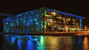 Mucem à Marseille (Nat_L2_photographies) Tags: musée marseille mucem nuit lumières pose longue longexposure couleurs bleu