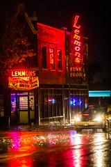 Lemmon's (Thomas Hawk) Tags: america lemons missouri stlouis usa unitedstates unitedstatesofamerica neon rain restaurant fav10 fav25 fav50 fav100