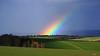 shining (Lutz Koch) Tags: regenbogen rainbow idsteinerland regenbogenbrücke landschaft landscape elkaypics lutzkoch idstein taunus arcenciel arcoiris arcoíris szivárvány arcobaleno regenboog ĉielarko duha badcamberg kreuzkapelle goldenergrund farbe licht himmel sky dogwalk