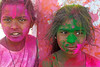 COLORFUL INDIA (GOPAN G. NAIR [ GOPS Photography ]) Tags: gopsorg gopangnair gops gopsphotography gopan photography colours colors india holi girls children festival