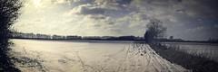 20180302-153049 Winter Pano 3 zu 1 (torstenbehrens) Tags: winter pano 3 zu 1 tarbek schleswigholstein deutschland olympus epm1 feld schnee himmel knick landschaft