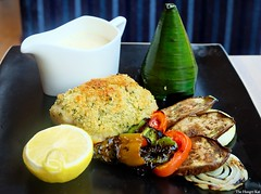 Citron 28 Fillet of Lapu-Lapu in a Lemon and Herb Crust P595 (The Hungry Kat) Tags: holidayinn holidayinnmakati citron lobbylounge lounge restaurant pokebowls healthy food foodie makati philippines hotel
