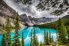 Moraine Lake on a Blustery Day (Christy Turner Photography) Tags: landscape scenery beautiful travel worldtravel nikon throughherlens morainelake alberta lake louise lakelouise banff canada water christy turner photography calgarytravelphotographer
