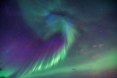 Aurora Corona (Christy Turner Photography) Tags: landscape scenery beautiful travel worldtravel nikon throughherlens northernlights aurora auroraborealis aurorachaser albertaaurorachasers nightscape corona