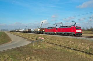 DB Cargo 189 100 + 189 035, Valburg
