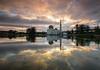 - As-Salam Mosque - (Md Farhan's Gallery) Tags: assalammosque asia morning mosque nationalgeographic sunrise landscape lake reflection serenity calm malaysia lensamalaya fujifilm fujinon xf1024mm xt1 selangor architecture