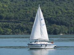 Sailboat on Seneca Lake (Itinerant Wanderer) Tags: newyorkstate watkinsglen schuylercounty senecalake pier