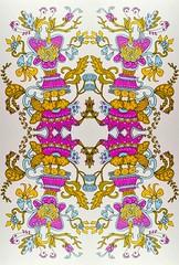 Tuesday Doodle (Lindsaywhimsy) Tags: doodle pattern design markers ink illustration