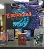 Enchanted by the Story: Book exhibit at WSC library (ali eminov) Tags: wayne nebraska colleges waynestatecollege libraries books bookexhibits