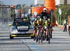 Tirreno Adriatico 2018 (Darea62) Tags: cycling bikes sport people car tirrenoadriatico lidodicamaiore versilia tuscany road team stopwatch