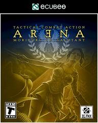 Arena - Box Art Design I (hinxlinx) Tags: gladiator thumbs down roman arena fighter warrior gaul