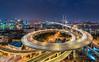 南浦大桥 Nanpu Bridge   Shanghai 上海 (Wei Kuan Tay) Tags: nanpubridge shanghai puxi circularbridge acrossthebund huangpuriver famousbridge 上海夜景 laowa12mm pudong 南浦大桥 浦东 浦西 上海 夜上海
