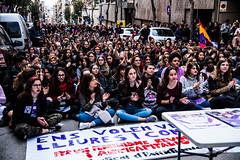 International Women's Day - Feminist Strike in Tarragona (Spain) (rfabregat) Tags: tarragona iwd internationalwomensday 8m concentració vaga vagageneral strike streetprotest demonstration women dones mujeres nikon nikond750 d750 nikkor