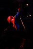 Does whatever a spider can (Chris Hamilton Photography) Tags: london westminster d7200 reflection spiderman hero urban street nikon red blue