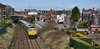 Round The Houses (whosoever2) Tags: uk united kingdom gb great britain nikon d7100 train railway railroad march 2018 altrincham cheshire freightliner class 66 66617 6f70 tunstead garston freight