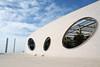 Champalimaud Centre for the Unknown - I (photosam) Tags: algés lisboa portugal lisbon belem fujifilm xe1 fujifilmx prime raw lightroom xf18mm12r xf18mmf2r champalimaudfoundation charlescorrea charlescorreaassociates architecture modernist fundaçãochampalimaud explore