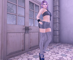 such a gray area (elliedonut Resident) Tags: wasabi pills miss chelsea reign sl secondlife