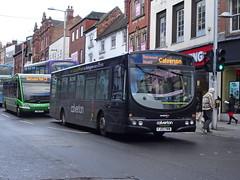 trent barton 630 Nottingham (Guy Arab UF) Tags: trent barton 630 fj03vww scania l94ub wright solar bus upper parliament street nottingham wellglade group buses wellgladegroup