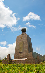 El Mitad Del Mundo - the middle of the world (benjamin.t.kemp) Tags: middle ofthe world mitaddelmundo landmark ecuador tower structure south east