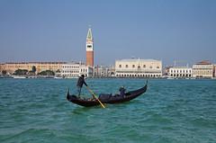 picture of Venice from laguna (dmitry_burtsev) Tags: venezia san marco laguna gondola