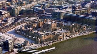 The Tower of London in miniature