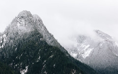 Every Piece Matters (John Westrock) Tags: landscape mountains winter snow rugged cold washingtonstate northbend pacificnorthwest canoneos5dmarkiii canonef100400mmf4556lisusm clouds cloudy