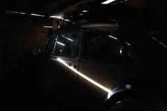 VW Baja Bug (. o 0 Sam 0 o .) Tags: fujifilm fuji x100 vw volkswagen car garage naturallighting naturallight grain noise highiso unedited proviafilmsimulation provia