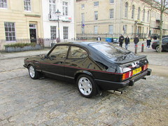 Ford Capri 2.8 Injection Special C794GOV (Andrew 2.8i) Tags: queen queens square bristol breakfast club show meet car cars classic classics 2800 v6 cologne mark 3 mk mk3 hot hatch hatchback coupe sports sportscar special injection 28 capri ford