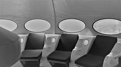 IMG_0063 (www.ilkkajukarainen.fi) Tags: suomi finland finlande eu europa scandinavia blackandwhite mustavalkoinen monochrome ellips 60s plastic futuro mattisuuronen design muotoilu pop art emma weegee museo kortti museeum musée museet suomi100 modern espoo travel traveling happy life