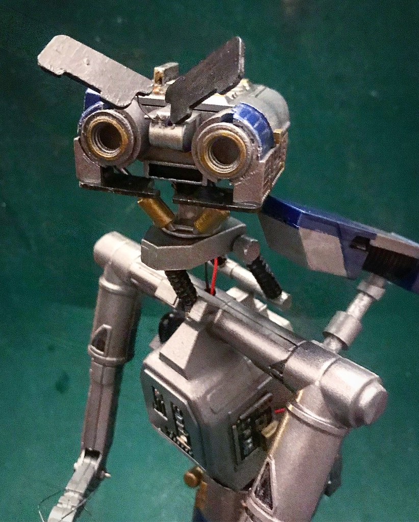 The Worlds Most Recently Posted Photos Of Painting And Robot Short Circuit Johnny 5 Memes Five Model Kit Paint Build Backwards Lamb Tags Modelmaking