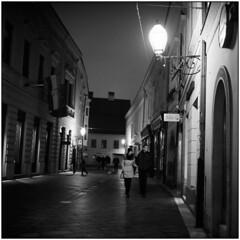 Sunday Mood (Koprek) Tags: rolleiflex28f ilfordhp5 1600 streetphotography varaždin croatia february 2018 low light dućanska medium film