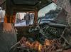No Song On The Radio     ...HTT! (jackalope22) Tags: htt inid truck window cracked glass