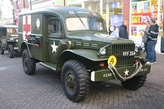 WW2 American Dodge US Army Ambulance. (Yesteryear-Automotive) Tags: ww2 dodge army field ambulance leek staffordshire world war two american military vehicle