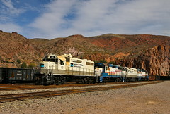 Clifton, Arizona (UW1983) Tags: trains railroads freeportmcmoran clifton arizona