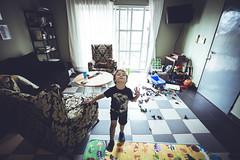 Happy mess. (Pablin79) Tags: livingroom curtain lifestyle feet up pajamas room living leg play fun happy vini child childhood light colors toys posadas misiones argentina