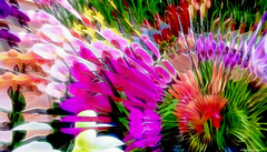 Cut Flowers (abstractartangel77) Tags: cutflowers watercolour