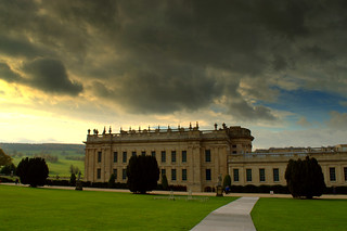 Clouds over Chatsworth House