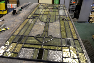 Leaded glasswork