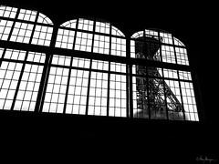 Zeche Zollern, Dortmund (Meinersmann, Thomas) Tags: 1240mm128pro dortmund februar2018 industriedenkmal nrw omdem1 olympus ruhrgebiet steinkohle thomasmeinersman zechezollern bw lwlmuseum routederindustriekultur