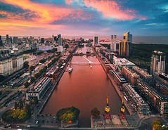 Puerto Madero, Buenos Aires (deensel) Tags: argentina buenos aires cityscape drone dji mavic mavicpro aerial aerialphotography microcenter puerto madero quadcopter