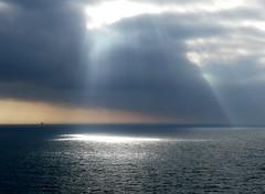 North-Sea (BrigitteE1) Tags: rays light colour magical sea meer nordsee northsea peaceful amazing