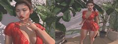 › Flare babe... (Sia Yong-Roa-Kahn) Tags: letre se7en cynful justmagnetized gorgeousdolls breathe dustbunny applefall dutchie breed opale blogger blog blogpost secondlife sl new fashion