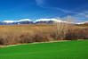 Пролет и зима (sevdelinkata) Tags: field sky grass tree landscape mountain rila bulgaria