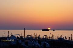 ... semplicemente ... tramonto ... (rikkuccio) Tags: scoglio rikkuccio messina sun sole sea mare sky cielo sunset tramonto